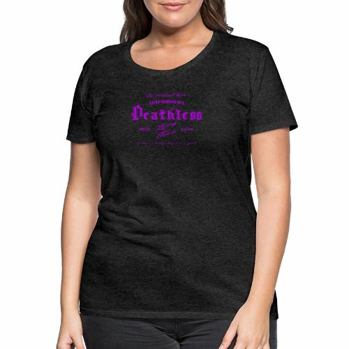 deathless living team violet - Frauen Premium T-Shirt