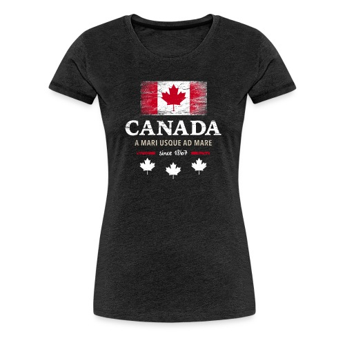 Canada Kanada Amerika maple leaf Flagge Fahne - Women's Premium T-Shirt