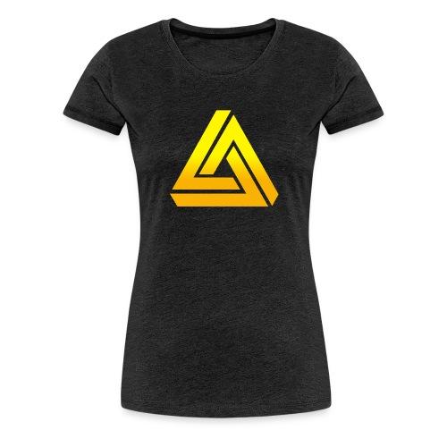 DIE KONFI 2015 TRSP Schwarze Schrift png - Frauen Premium T-Shirt