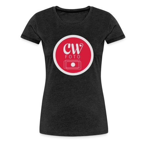 cw_foto_simplyfied-ai - Premium T-skjorte for kvinner