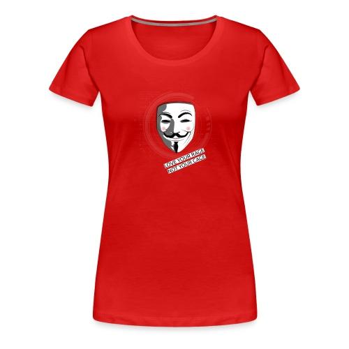 Anonymous Love Your Rage - Women's Premium T-Shirt