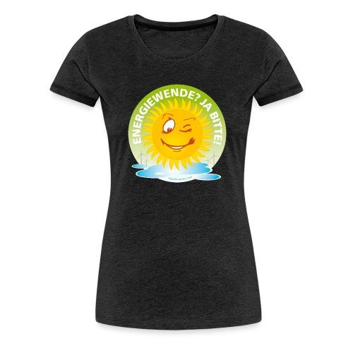Energiewende Ja bitte - Frauen Premium T-Shirt