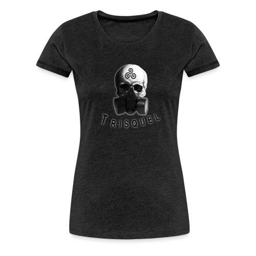 Trisquel Negro - Camiseta premium mujer