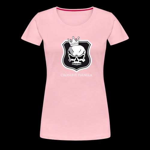 CrossFit Tuusula BW - Naisten premium t-paita