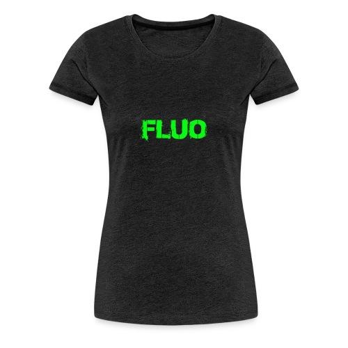 FLUO_trasparente - Maglietta Premium da donna
