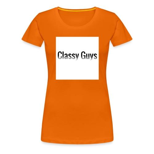 Classy Guys Simple Name - Women's Premium T-Shirt
