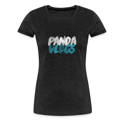 PandaVlogs 2 - Women's Premium T-Shirt