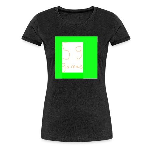 DHdhf - Vrouwen Premium T-shirt