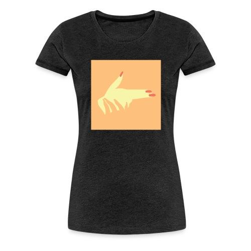 illustration main - T-shirt Premium Femme