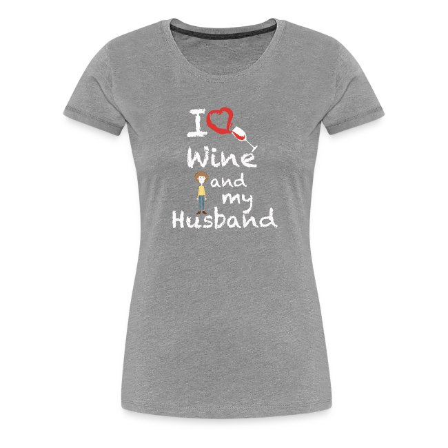 I love Red wine & my Husband Couples Pairs Wedding