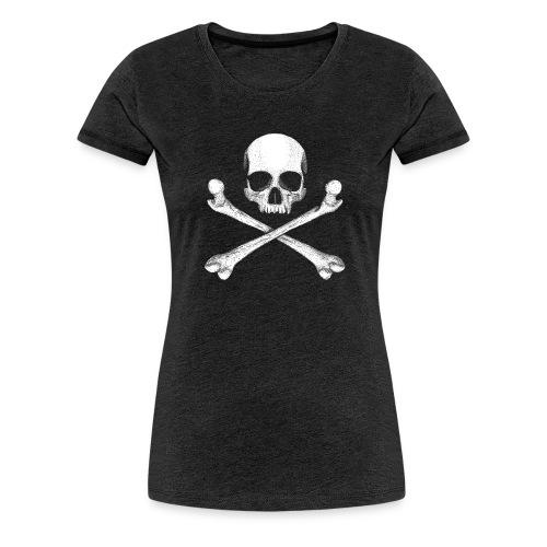Jolly Roger - Pirate Skull Flag - Women's Premium T-Shirt