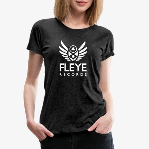 Fleye Records (White Logo Design) Tøj m.m. - Dame premium T-shirt