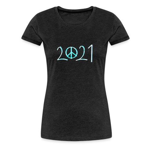 2021 - Naisten premium t-paita