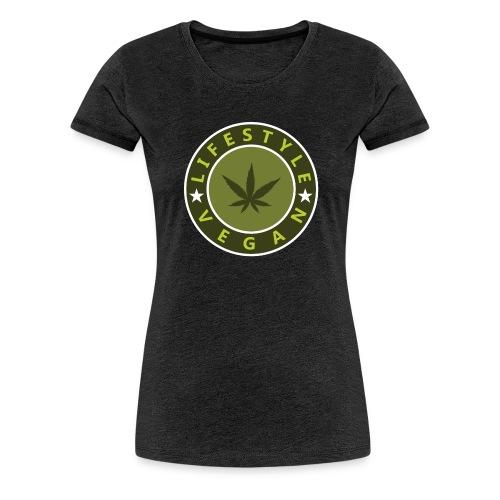 lifestyle vegan - T-shirt Premium Femme