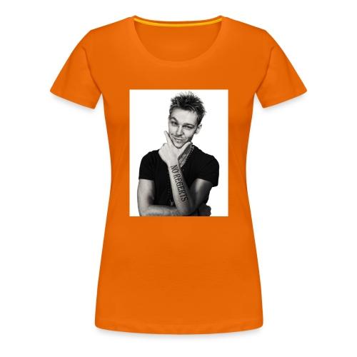 No Regerts - Women's Premium T-Shirt