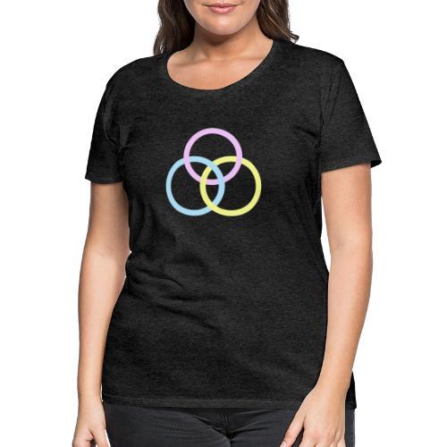 Circles - Maglietta Premium da donna