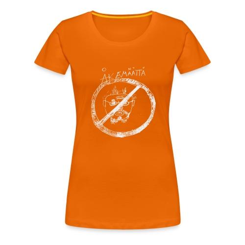Mättää black - Premium-T-shirt dam