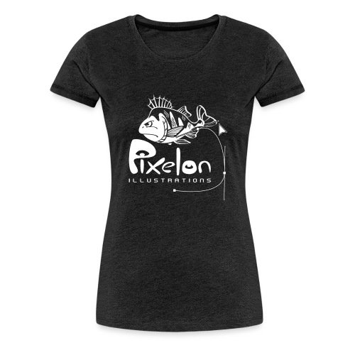 T-shirt with Pixelon perch logo - Premium-T-shirt dam