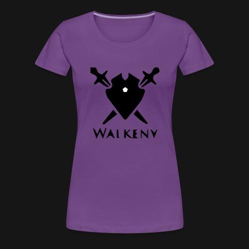 Walkeny Schwert Logo! - Frauen Premium T-Shirt