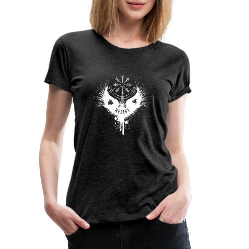 Wikinger Hedeby Vegvisir - Frauen Premium T-Shirt