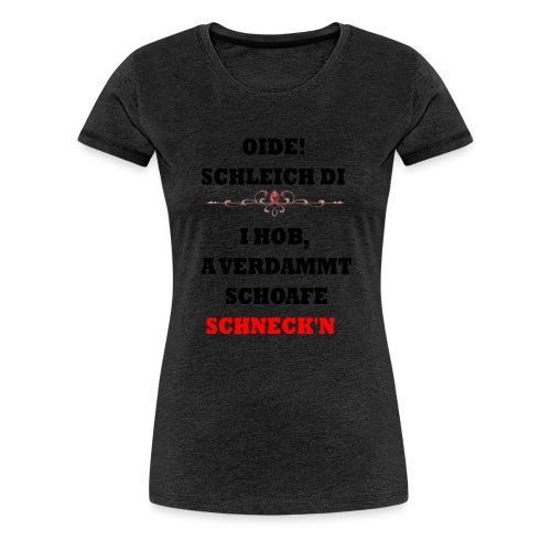 OIDE - Frauen Premium T-Shirt