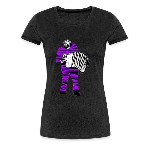akkordeon02 - Frauen Premium T-Shirt