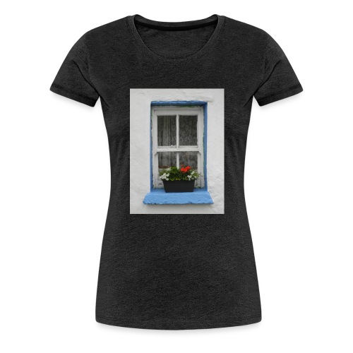 Cashed Cottage Window - Women's Premium T-Shirt