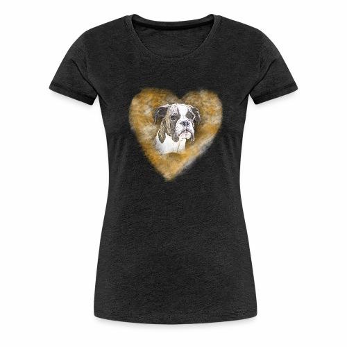 Boxer Portrait - Frauen Premium T-Shirt