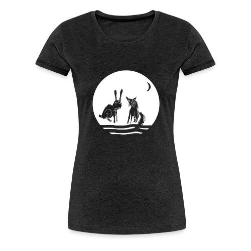 fuxundhase 03 - Frauen Premium T-Shirt