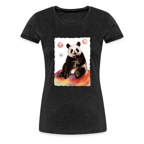Panda World - Maglietta Premium da donna