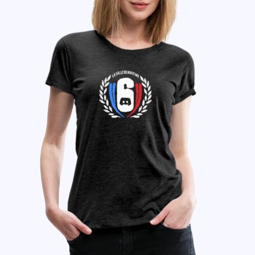 Logo LaSalleDeBriefing version painting - T-shirt Premium Femme