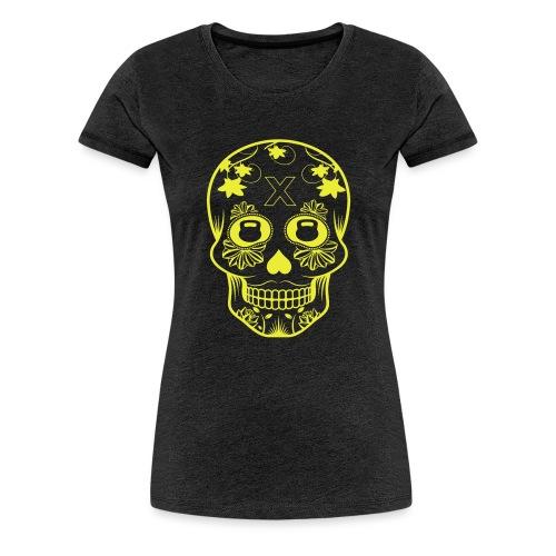 skull design - Premium-T-shirt dam