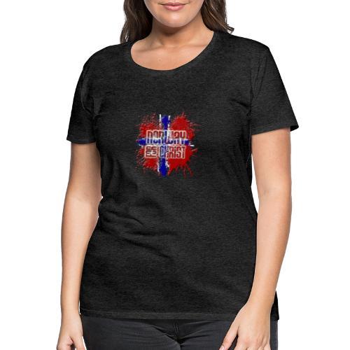 Norway for CHRIST - Women's Premium T-Shirt