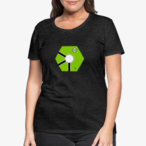 Tile Green - Premium-T-shirt dam