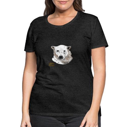 Schneebär (freigestellt) - Frauen Premium T-Shirt
