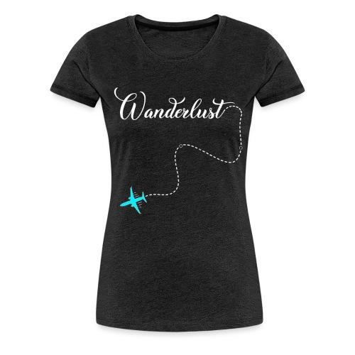 Reisen Weltreise Flugzeug Travelshirt - Frauen Premium T-Shirt