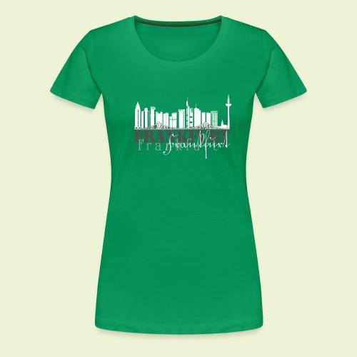 FFM - Frankfurt Skyline - Frauen Premium T-Shirt