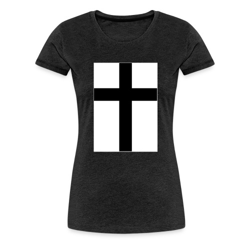 Cross - Premium-T-shirt dam