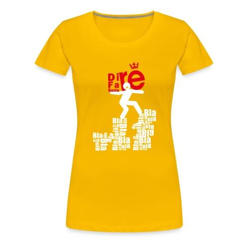 direbla - Maglietta Premium da donna
