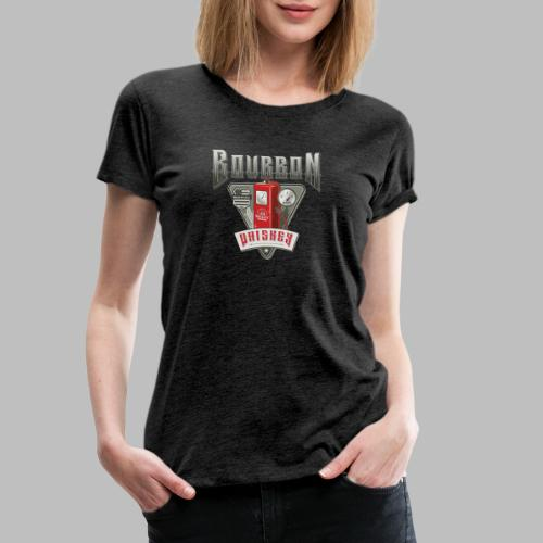 Bourbon Whiskey - Frauen Premium T-Shirt