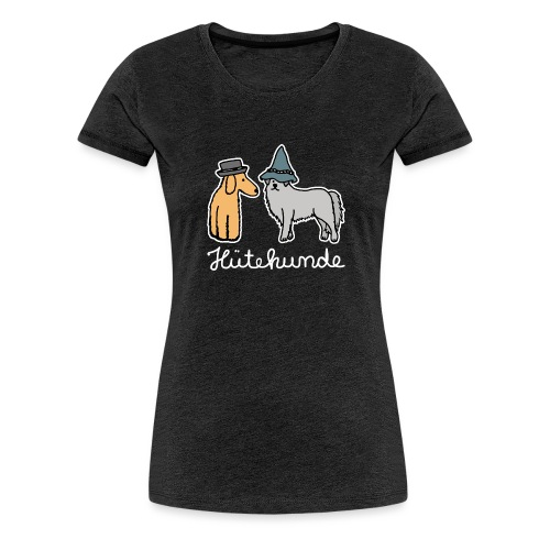 Hütehunde Hunde mit Hut Huetehund - Frauen Premium T-Shirt