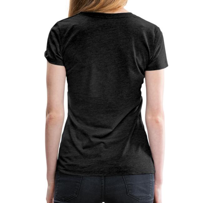 Vorschau: Nua so vü wia mit olla Gwoit einigeht - Frauen Premium T-Shirt