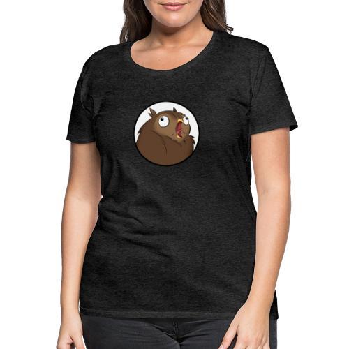 Komischer Kauz III - Frauen Premium T-Shirt