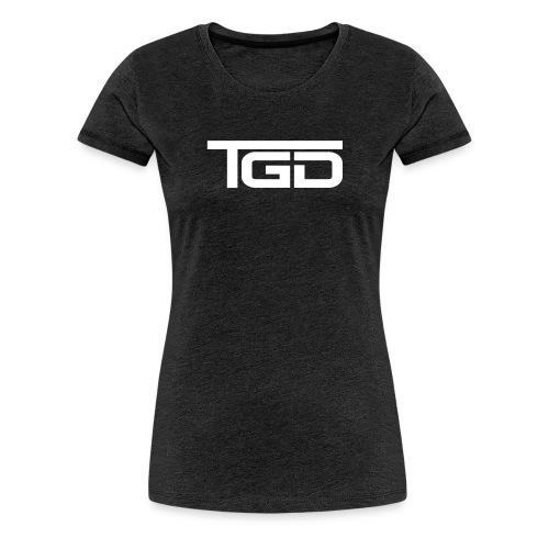 TGD Logo full - Frauen Premium T-Shirt
