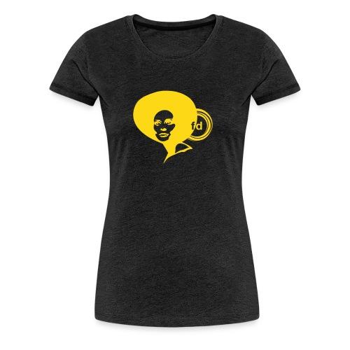 faye dunaway flock - Women's Premium T-Shirt