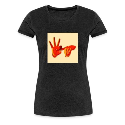 Fuck you - T-shirt Premium Femme
