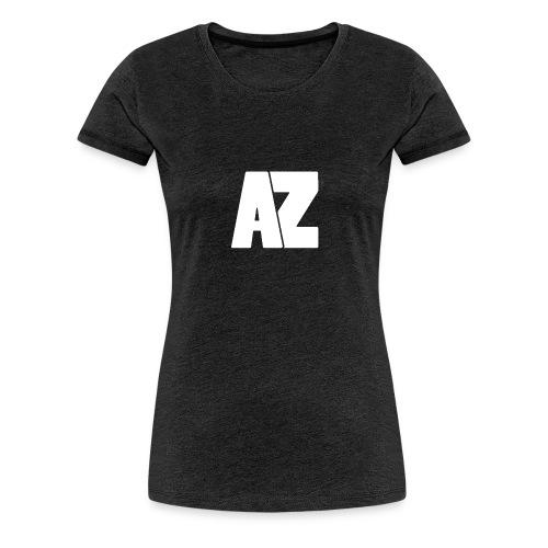 Androklez White Text - Women's Premium T-Shirt
