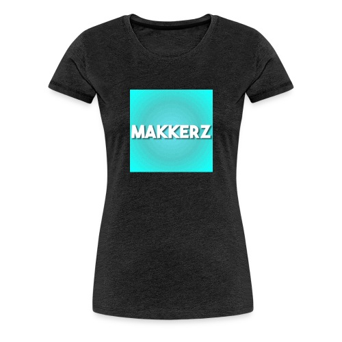 Makkerz Logo 2 - Women's Premium T-Shirt
