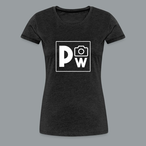 PHOTO WAUMAN LOGO - Vrouwen Premium T-shirt