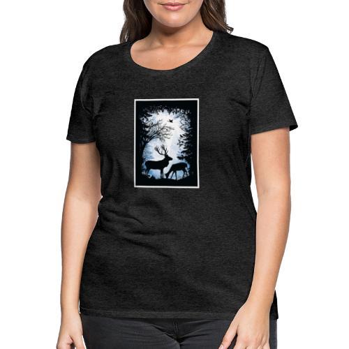 Forêt - T-shirt Premium Femme